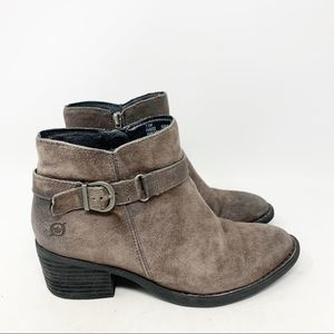 Born suede ankle booties
